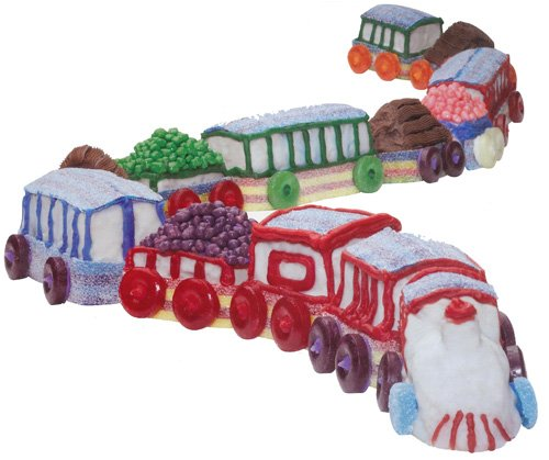 Create n' Celebrate 3-D Train Cupcake Mold