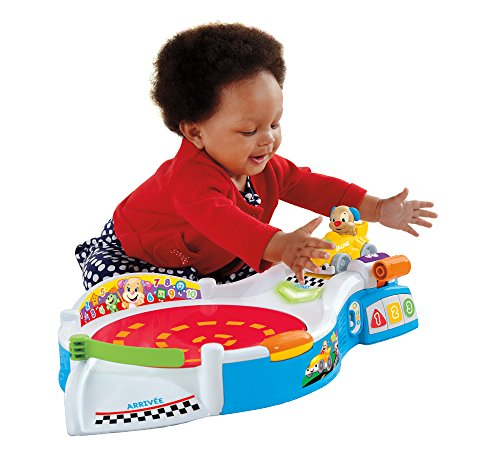 Fisher-Price Laugh and Learn Puppy's Smart Stages Speedway Toy