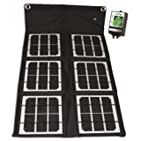 18-Watt Folding Monocrystalline Solar Panel with 8-Amp Charge Controller