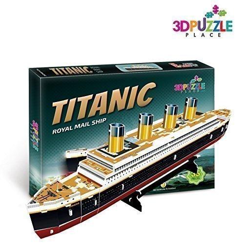 3d-puzzle-titanic-boat-royal-mail-ship-jp-morgans-marine-3d-puzzle-place-cubic-fun-t4012h-35-pieces-