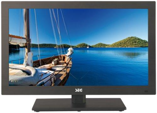 SEG Pisa-B 54,6 cm (21,5 Zoll) LED-Backlight-Fernseher, Energieeffizenzklasse B (Full HD, 50Hz, DVB-C/-T/-S2) matt schwarz