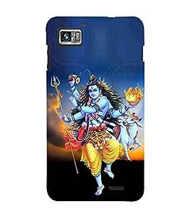 Tripurari Shiva 3D Hard Polycarbonate Designer Back Case Cover for Lenovo K860
