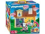 Playmobil 626044 - Rosa Casa De Muñecas Maletín