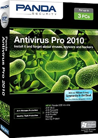 Panda Antivirus Pro 2010 3 user [Old Version]