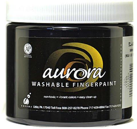 Chroma Inc. Aurora Washable Finger Paint (Black) 3 pcs sku# 1836244MA