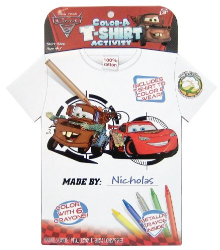 Tara Toy Cars 2 Color A T-shirt