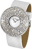 Jacques Lemans Damen-Armbanduhr XL Flora Analog Quarz Leder 1-1789B