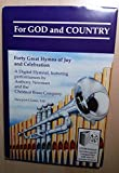 img - for For God and Country: Forty Great Hymns of Joy and Celebration (Newport Classic Premier) book / textbook / text book
