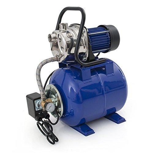 well pump pressure tank