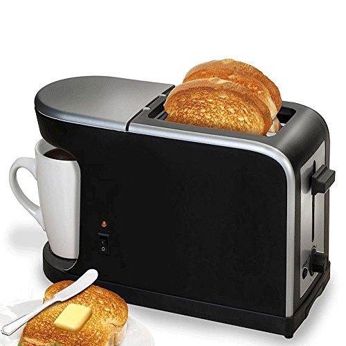 Breakfast-2-en-1-Cafetire-Grille-pain-900W-Mug-fournie