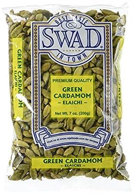 Great Bazaar Swad Green Cardamom by Gandhi Appliances LLC