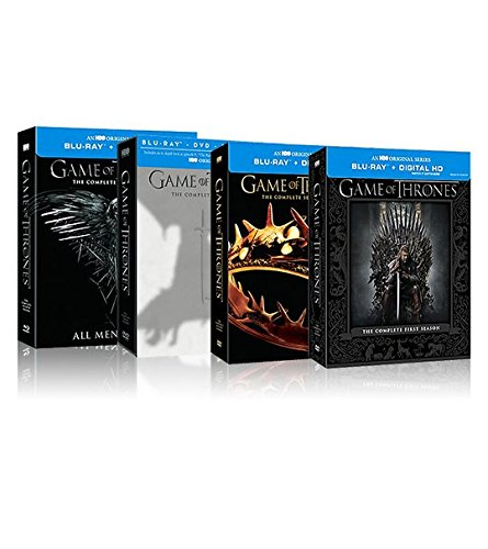 Game of Thrones: Seasons 1-4 Collection [Blu-ray] + Digital HD