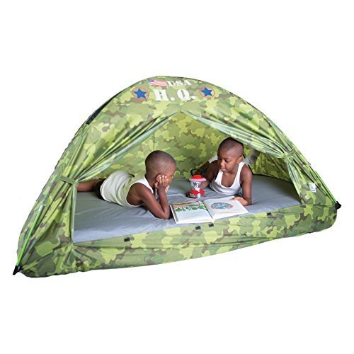 Pacific Play Tents Hq Twin Bed Tent, Camouflage By Pacific Play Tents front-970749