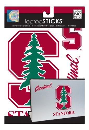 Me & My Big Ideas Laptopsticks Removable Laptop Stickers, Stanford Cardinals front-888061