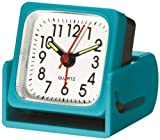 Travel Smart by Conair Travel Alarm Clock, Teal
