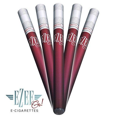 Ezee Go e-zigarette - Tabak Geschmack - NIKOTINFREI elektronische Zigarette - 5...