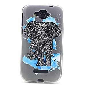 One Touch Pop C7 Case, Soft TPU Painting Cover Case For Alcatel One