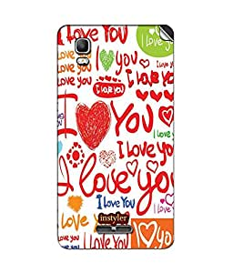instyler SKIN STICKER FOR MICROMAX CANVAS DOODLE 3 A102