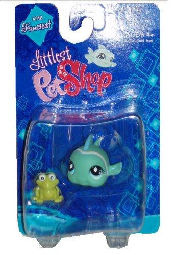 Buy Low Price Hasbro Littlest Pet Shop Fanciest Single Figure Green Fish (B001E3VP38)