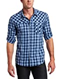 Marc Ecko Cut & Sew Mens Gingham To The Judge Shirt