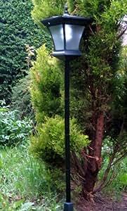 garden lamp post solar powered led light garden