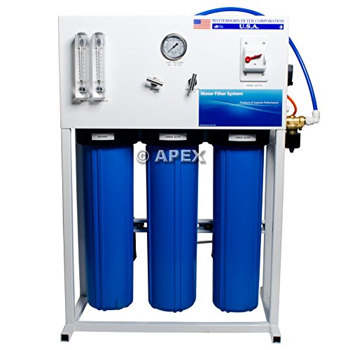 Big Save! Apex Commercial Reverse Osmosis System for Drinking Water & Hydroponic Treatment (3000 GPD)