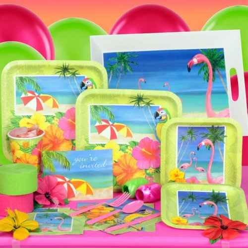 Tropical Vacation Standard Party Pack for 8 Party Supplies
