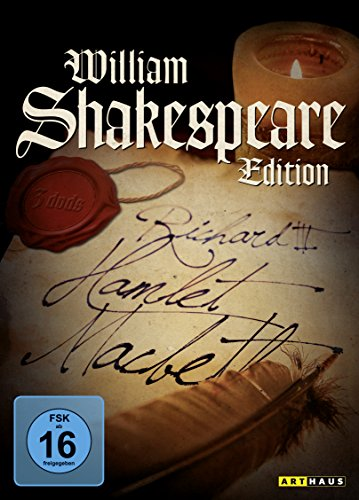 William Shakespeare Edition [3 DVDs]