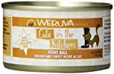 Weruva Cats in the Kitchen Fowl Ball Cat Food (3.2 oz (24 can case))