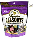 Wiley Wallaby Australian Gourmet Style Allsorts Licorice Candy 9 Oz. (Pack of 3)