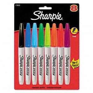 SAN1738522 - Sharpie Grip Permanent Markers
