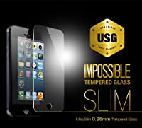 Colorant USG ITG Slim - Impossible Tempered Glass for iPhone 5 - 0.26mmの超薄型強化ガラス製液晶保護フィルム - 日本正規流通品 - P-4148