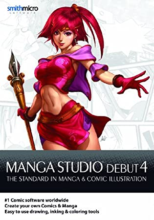Manga Studio Debut 4 for Mac [Download]
