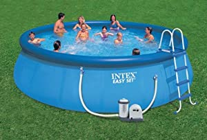 Intex 54919EG Easy Pool Set, 18-Feet by 48-Inch Review & Price