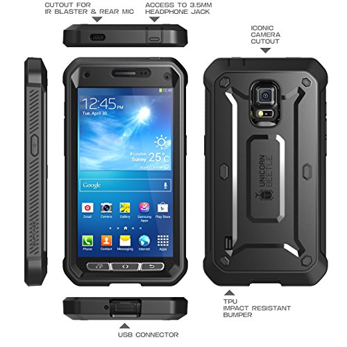 Samsung Galaxy S5 Active SUPCASE Unicorn Beetle PRO Series ...