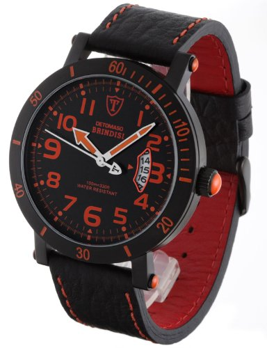 Detomaso Brindisi Men's Orange Watch DT1003-C