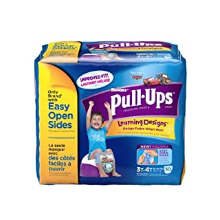 Pull-Ups Learning Design Training Pants, Size 3T-4T, Boy, 50 Count (Pack of 2)