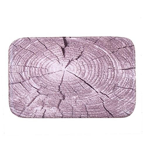 Gillberry Mat Outdoor Indoor Antiskid Decor Doormat (purple)