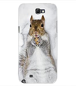 ColourCraft Cute squirrel Design Back Case Cover for SAMSUNG GALAXY NOTE 2 N7100