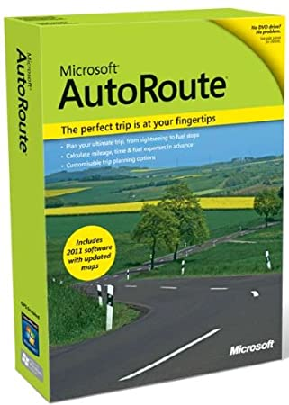 Microsoft AutoRoute Euro 2011 (Old Version)