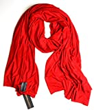 Super SALE $42.99 Fluxus Nomad Scarf in Crimson Red, Nomad Scarf, Wrap, Shawl, Fluxus, Oprah's Faves List Scarf Shawl Wrap, 100% Cotton, Made in USA
