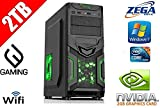 Gaming Desktop PC Intel Core i5 3.0GHz 2GB NVIDIA GeForce GT630 2TB HDD 8GB DDR3 RAM 1600MHz Windows 7 Home Premium Preinstalled and Ready to Go DVD RW Home Office Gaming Computer Midi Tower