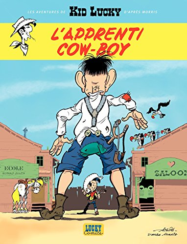 Les aventures de Kid Lucky d'après Morris - Tome 1 - L'apprenti Cow-boy (1)