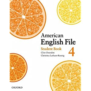 American English File 4 (Student Book, Class Audio CDs, DVD, MultiROM, Test Generator CD-ROM) [2009, PDF, wma, nrg, avi]