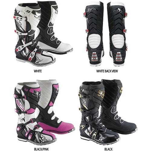 Amazon.com: Fox Racing F3 Encore Boots - 10/Black/Pink