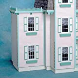 Real Good Toys Real Good Toys Two-Story Jr Addition Kit - 1 Inch Scale, Milled MDF Wall Finish, Medium Density Fiberboard