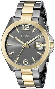 Fossil Women's ES3829 Perfect boyfriend Analog Display Analog Quartz Gold Watch
