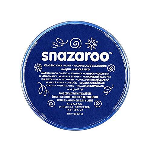Snazaroo Classic Face Paint, 18ml, Dark Blue