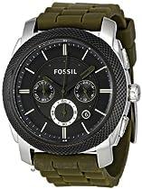 Fossil Machine Chronograph Gunmetal Dial Mens Watch FS4597