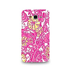 Mikzy Flower Pattern Printed Designer Back Cover Case for Samsung J7